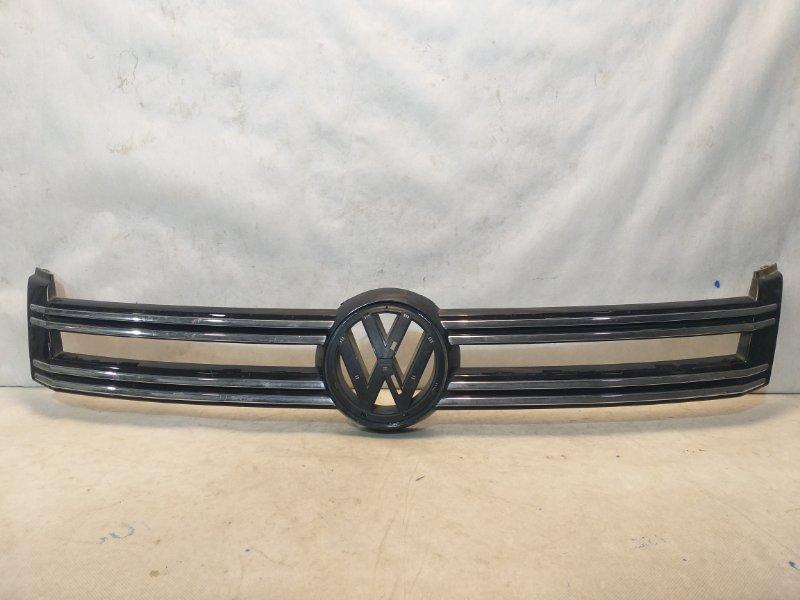 Решетка радиатора Volkswagen Tiguan 1 5N 2011> 5N0853655 (б/у)
