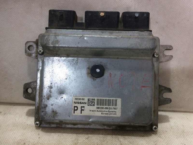Блок управления двигателем Nissan Note (б/у)