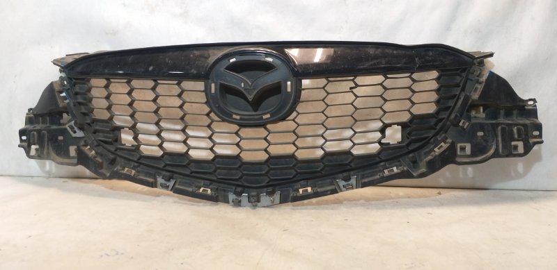 Решетка радиатора Mazda Cx-5 KE 2012 передняя KD4550710 (б/у)