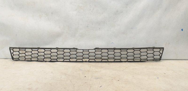 Решетка бампера Bmw X5 E70 2007 передняя верхняя 51117205559 (б/у)