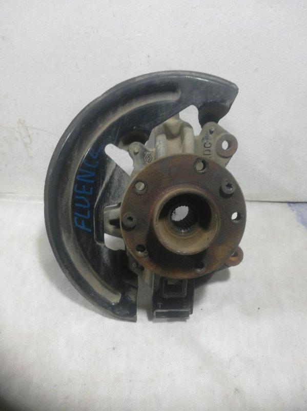 Кулак поворотный Renault Fluence передний правый (б/у)