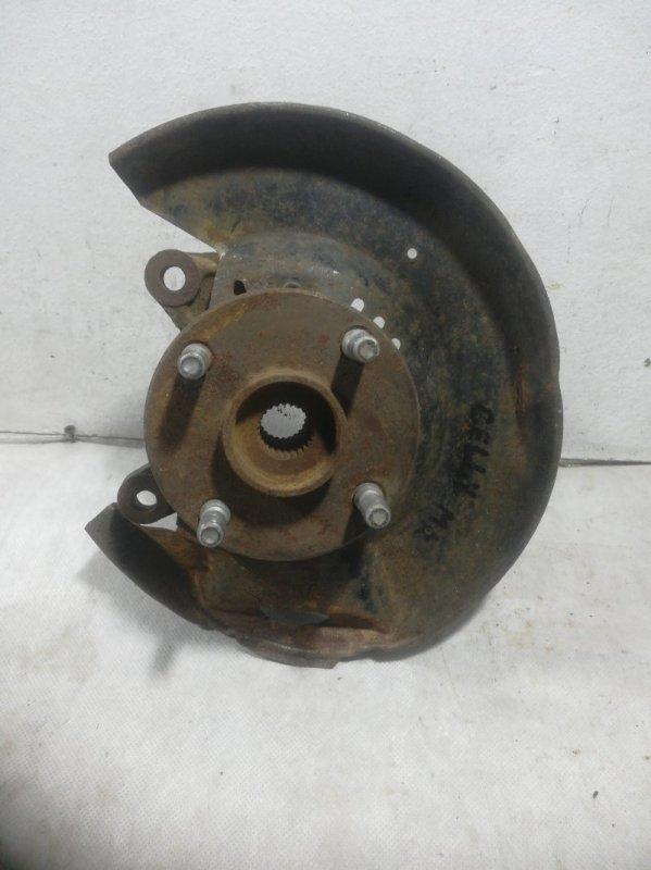 Кулак поворотный Geely Mk передний левый 1014001997 (б/у)