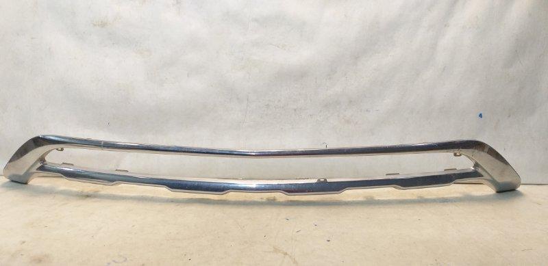 Накладка на бампер Mercedes Glk X204 2012 передняя A2048851822 (б/у)
