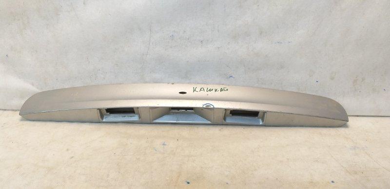 Накладка багажника Nissan Qashqai 1 J10 2006 задняя 90810JD00A (б/у)