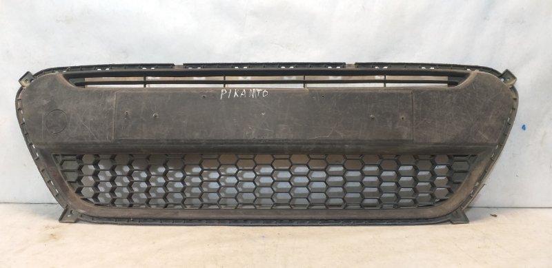 Решетка бампера Kia Picanto 2 865691Y000 (б/у)