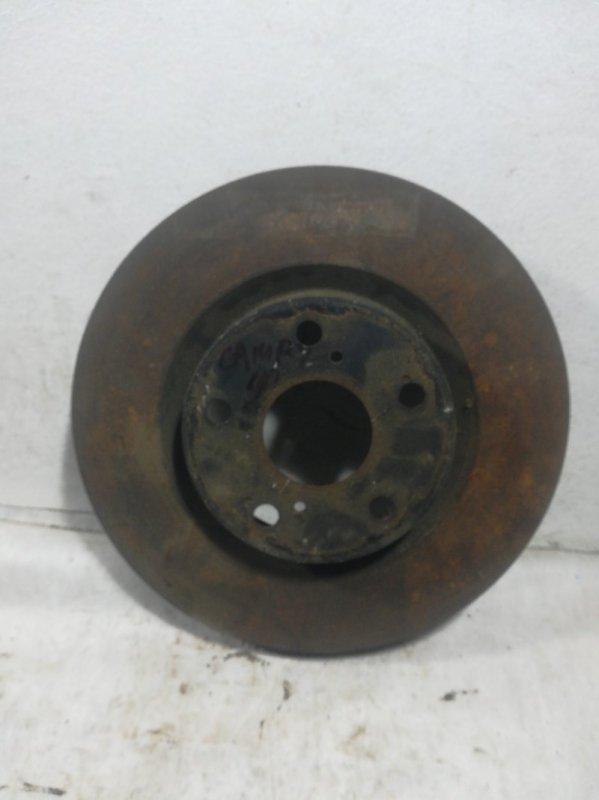 Диск тормозной Toyota Camry 40 передний 4351233130 (б/у)