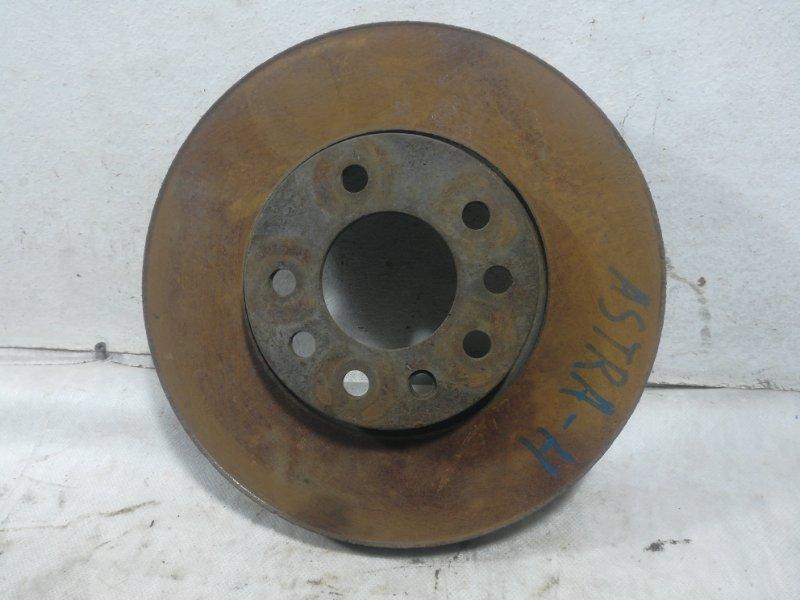 Диск тормозной Opel Astra H передний 93197592 (б/у)
