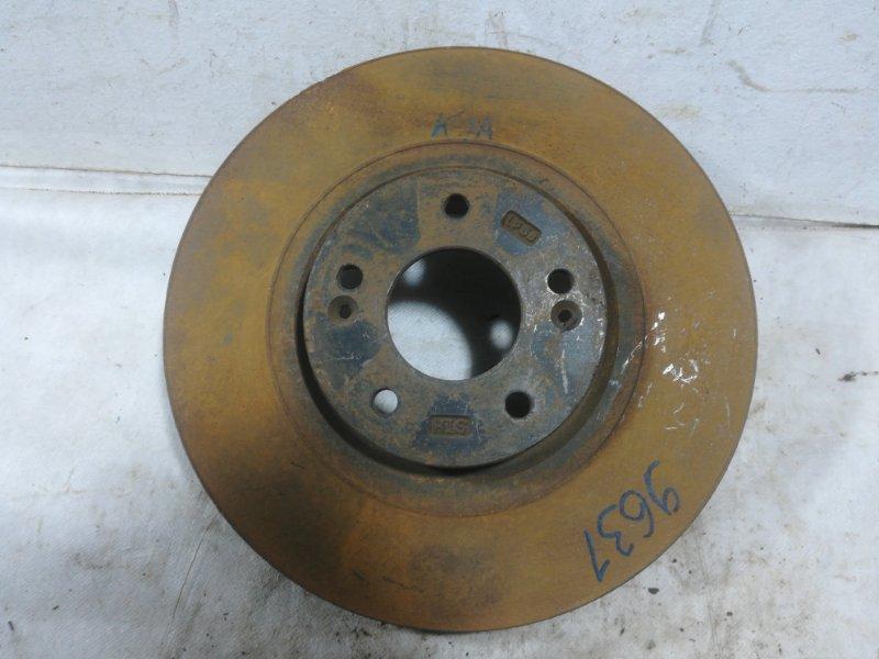 Диск тормозной Kia Ceed 1 передний 517121H000 (б/у)