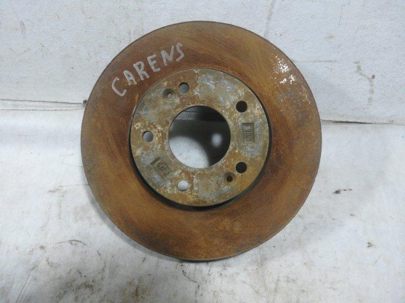Диск тормозной Kia Carens передний 517121D100 (б/у)