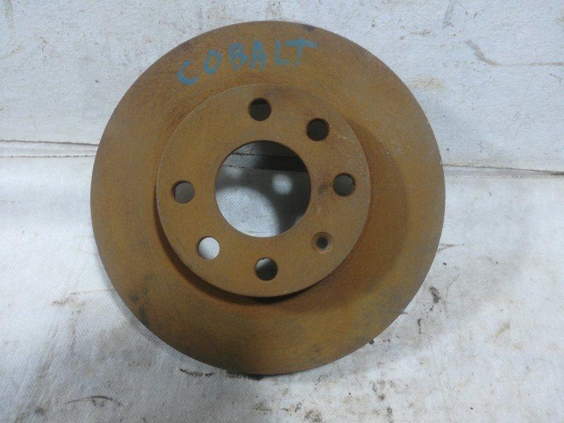 Диск тормозной Chevrolet Cobalt передний 94731378 (б/у)