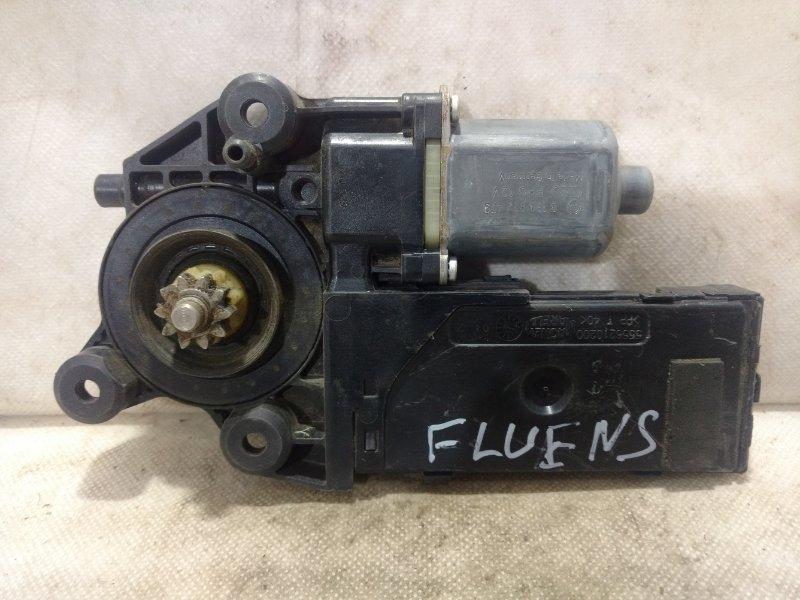Мотор стеклоподъемника Renault Fluence передний левый 807310699R (б/у)