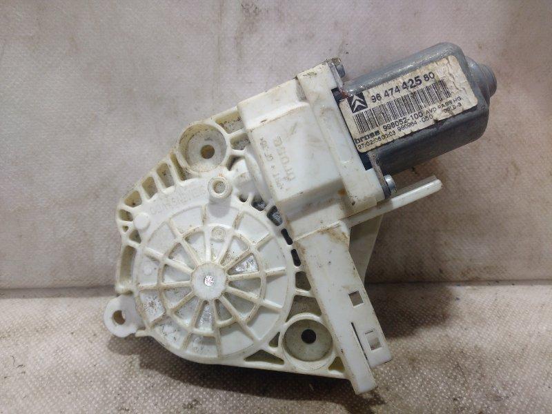 Мотор стеклоподъемника Citroen C4 передний правый (б/у)