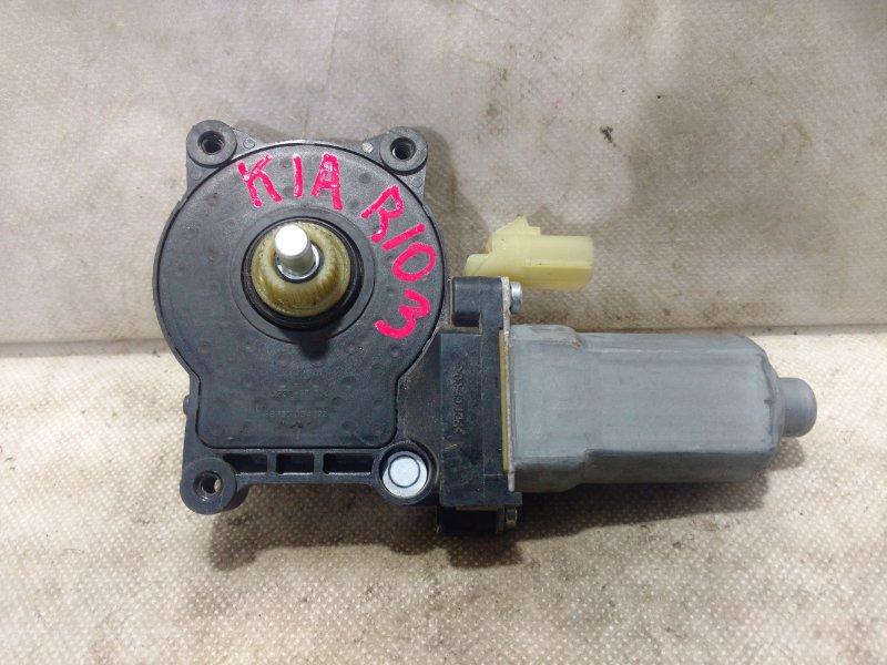 Мотор стеклоподъемника Kia Rio 2 JB 2009 задний левый 988101G200 (б/у)