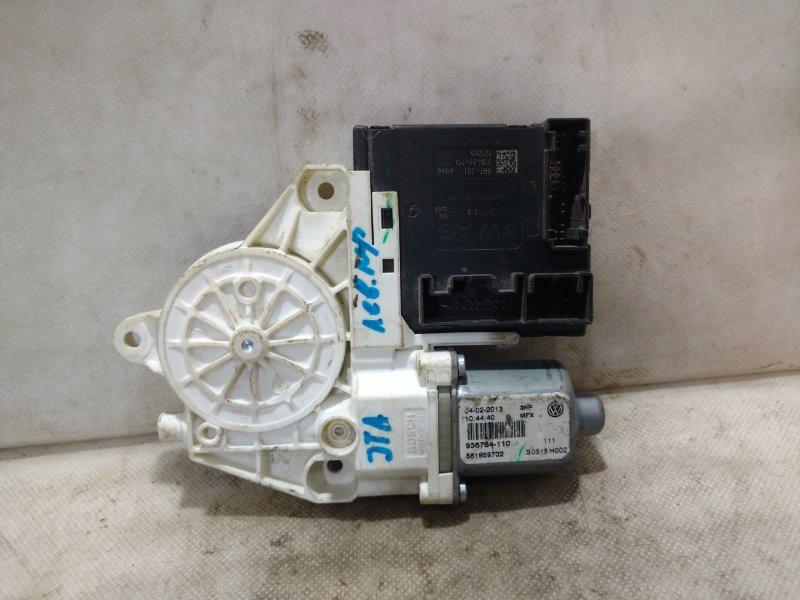 Мотор стеклоподъемника Volkswagen Jetta 5 1K 2006 передний правый 561959702Z0B (б/у)