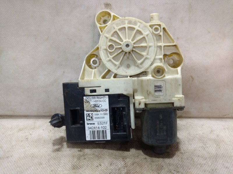 Мотор стеклоподъемника Ford Focus 2 CB4 2006 задний правый 1776006 (б/у)