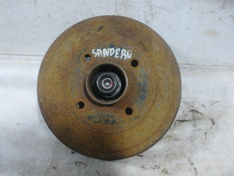 Тормозной барабан Renault Logan 1 задний 432026294R (б/у)