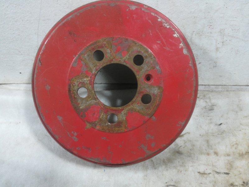 Тормозной барабан Volkswagen Polo задний 6RU609617A (б/у)