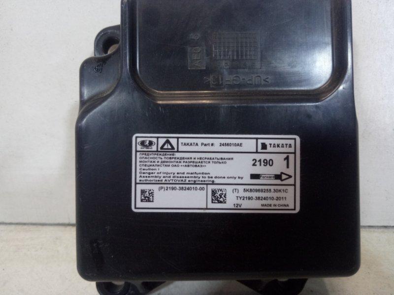 Блок управления air bag Lada Granta 2190 1.6 2014 219038240102011 (б/у)