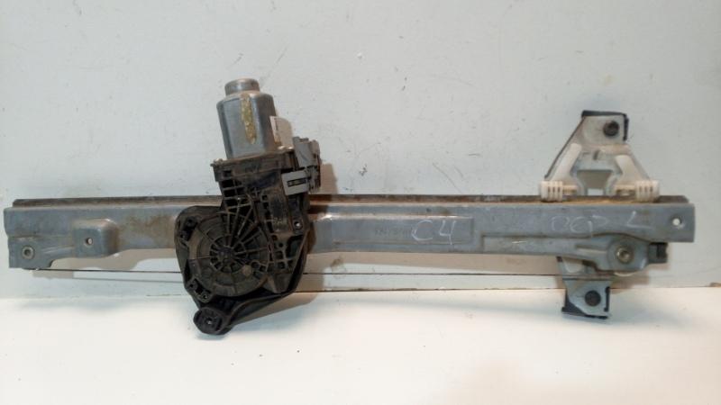 Механизм стеклоподъемника Peugeot Boxer передний левый (б/у)