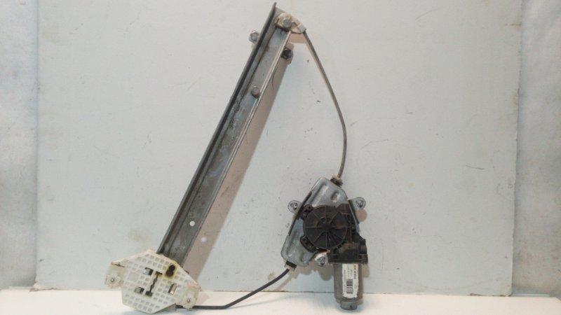 Механизм стеклоподъемника Kia Rio 3 задний левый (б/у)