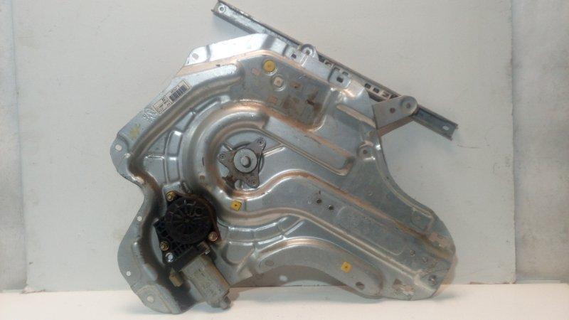 Механизм стеклоподъемника Hyundai Elantra 3 2000 задний правый (б/у)