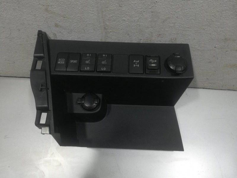 Накладка центральной консоли Toyota Rav4 2013 5543342031 (б/у)