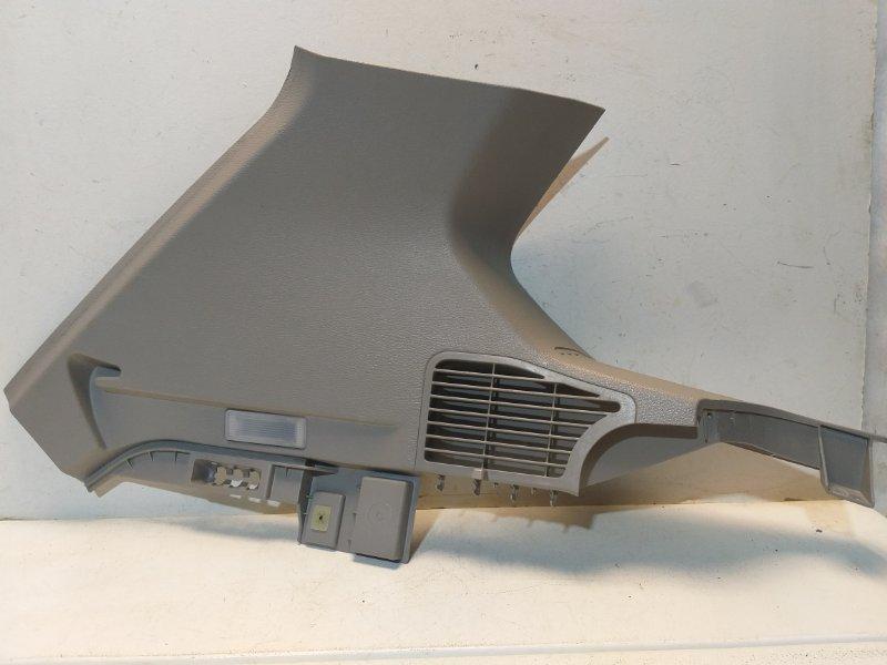 Обшивка стойки Bmw X3 F25 3.0 2011 задняя левая 51437229077 (б/у)