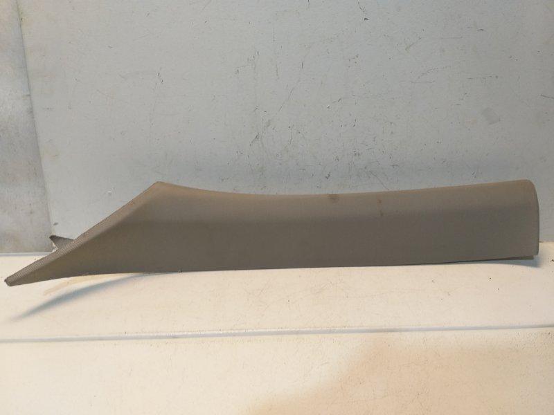 Обшивка стойки Bmw X3 F25 3.0 2011 передняя левая 51437225307 (б/у)