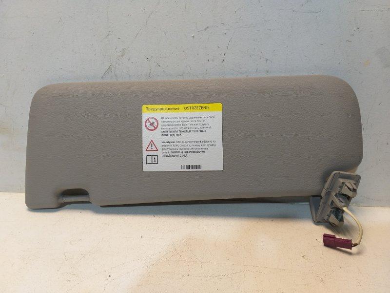 Козырек солнцезащитный Bmw X3 F25 3.0 (N52B30AF) 2011 правый 51167403558 (б/у)