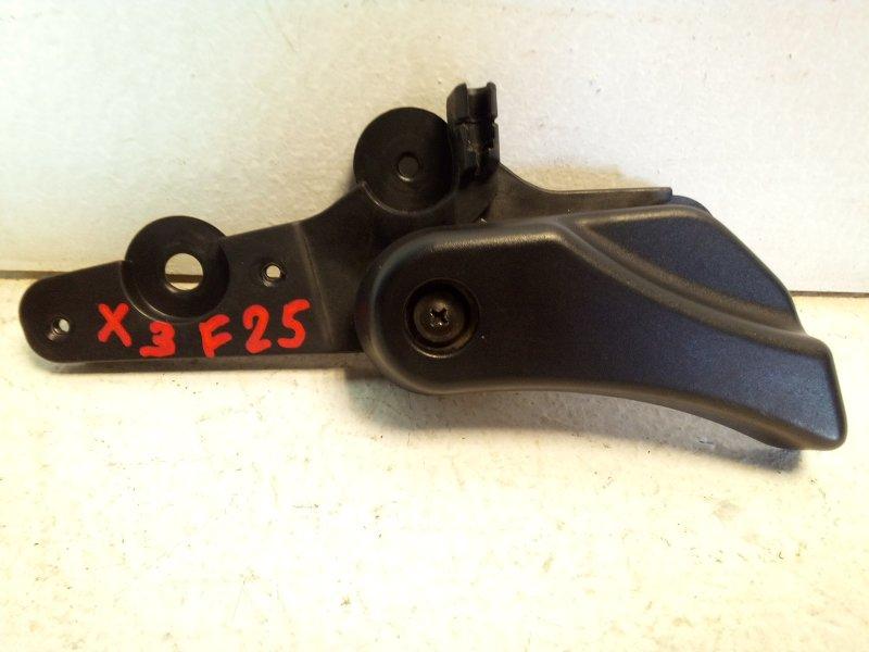 Ручка открывания капота Bmw X3 F25 3.0 (N52B30AF) 2011 передняя 51239150273 (б/у)