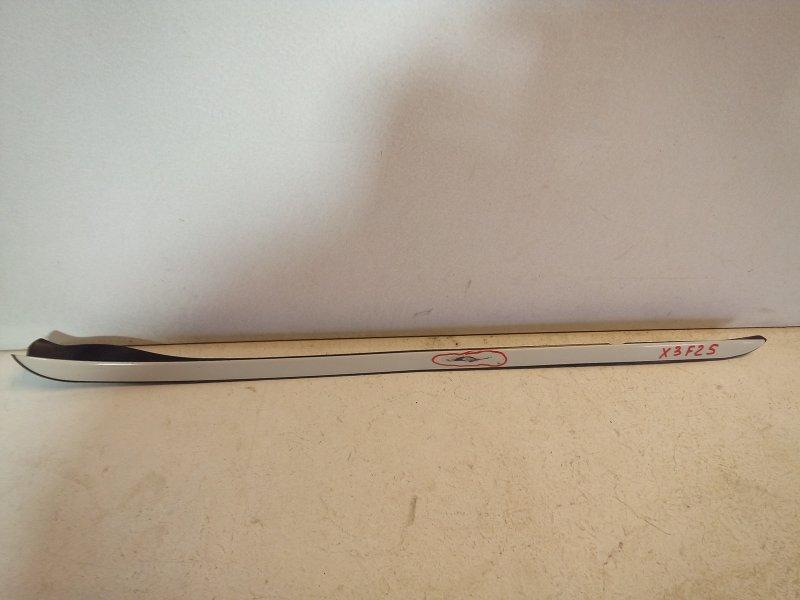 Молдинг лобового стекла Bmw X3 F25 3.0 (N52B30AF) 2011 (б/у)