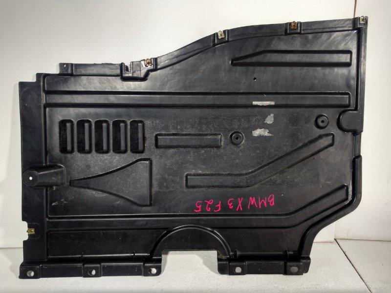 Защита антигравийная Bmw X3 F25 3.0 2011 задняя левая 51757213673 (б/у)