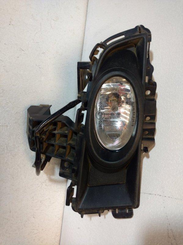 Фара противотуманная правая Mazda 3 BK 2005 правая BR5J51680D (б/у)