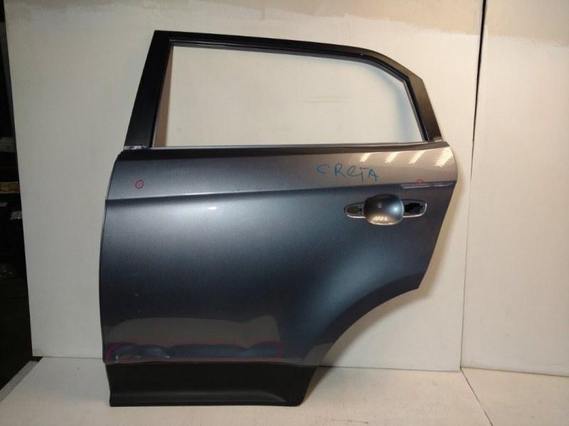 Дверь Hyundai Creta задняя левая 77003M0000 (б/у)