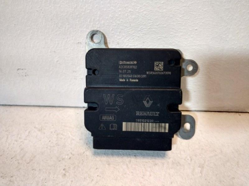 Блок управления air bag Renault Logan 2 L8 2014 985102787R (б/у)