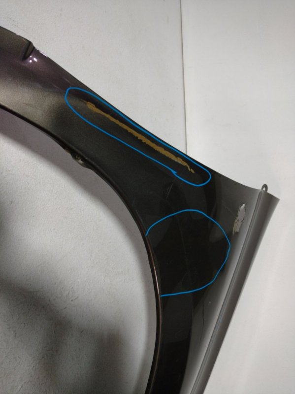 Крыло переднее правое Datsun On-Do переднее правое 631125PA0C (б/у)