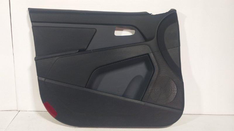 Обшивка двери Kia Sportage 3 QL 2013> передняя левая 823513U000 (б/у)