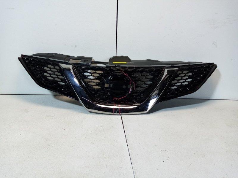 Решетка радиатора Nissan Qashqai 2 J11 2014> передняя 623104EA1D (б/у)