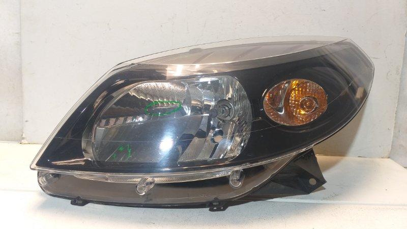 Фара левая Renault Sandero 1 BS 2009 передняя левая 260602914R (б/у)