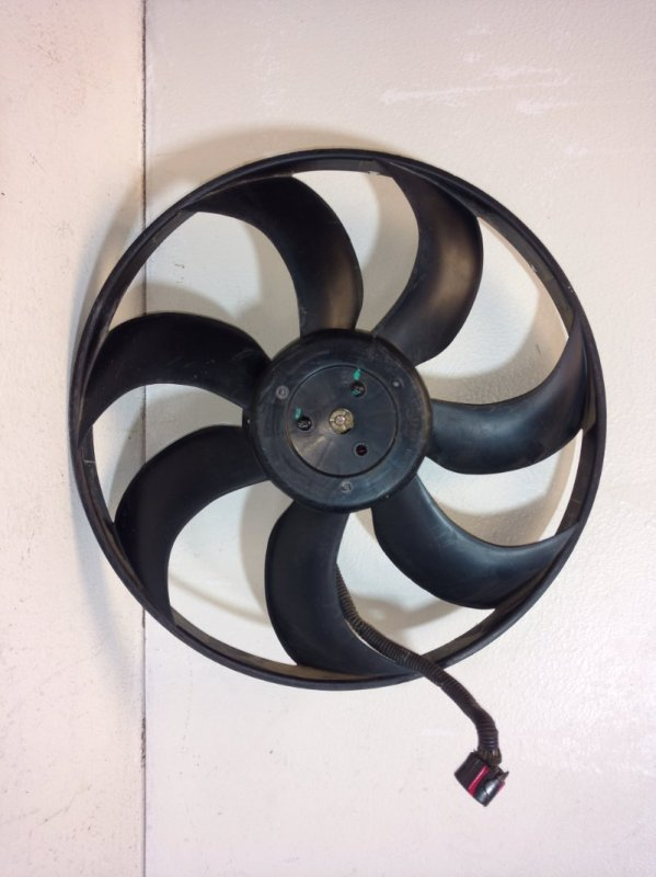 Вентилятор радиатора Hyundai Creta (б/у)