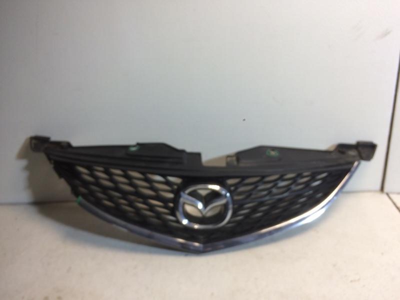 Решетка радиатора Mazda 6 GH L813 2007 передняя GDK450710B (б/у)