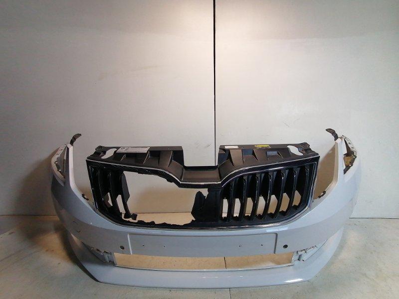 Бампер передний Skoda Octavia A7 2013> 5EU807221 (б/у)