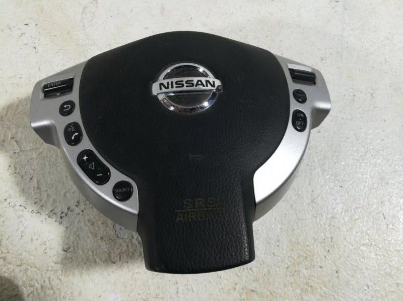 Подушка безопасности в рулевое колесо Nissan X-Trail 2 T31 2007 K851MJG100 (б/у)