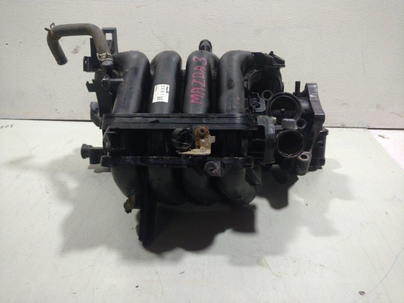 Коллектор впускной Mazda 3 BL 1.6 2011 z861 (б/у)