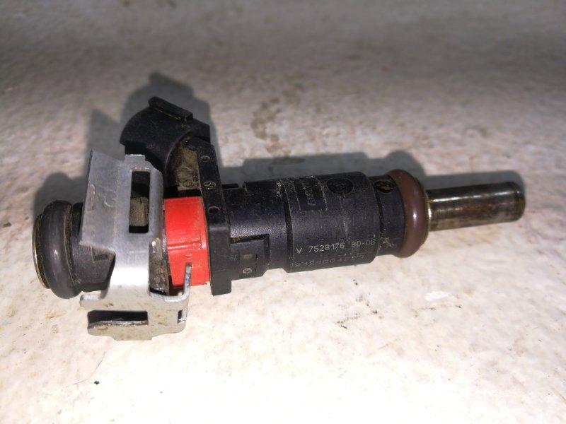 Форсунка инжекторная электрическая Peugeot 207 WK 2006 75281768006 (б/у)