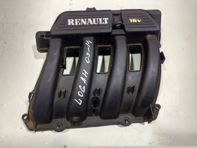 Коллектор впускной Renault Logan 1 2005 8200100872 (б/у)