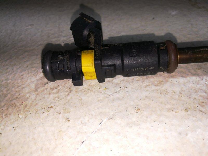 Форсунка инжекторная электрическая Citroen C4 B7 2010 (б/у)