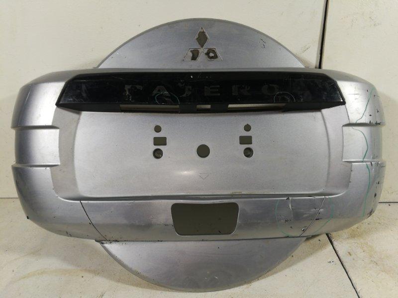 Чехол для запасного колеса Mitsubishi Pajero 4 V85 2006 6430A117 (б/у)