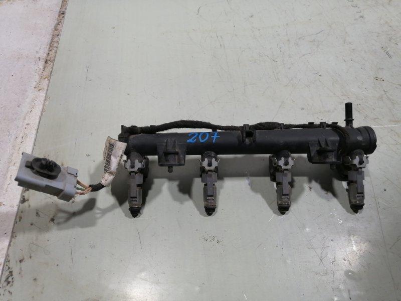 Рейка топливная (рампа) Peugeot 207 2006 198540 (б/у)