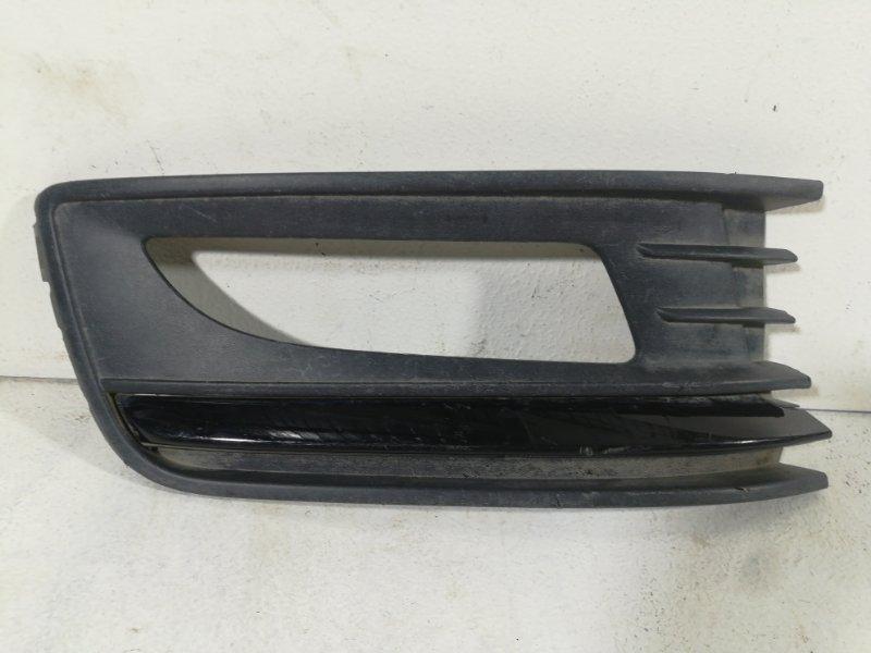 Накладка птф правая Volkswagen Polo MK5 2011> передняя правая 6RU853666F (б/у)